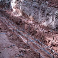 Steel In Footings